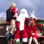 Visit with Santa at the farm!
